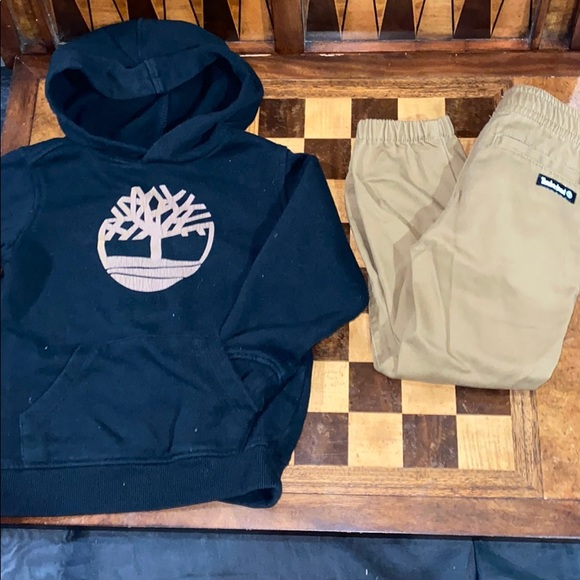 SOLD **Boys Timberland outfit